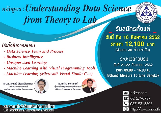 Understanding Data Science: From Theory to Lab